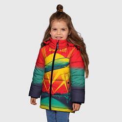 Куртка зимняя для девочки Led Zeppelin: Hindenburg - фото 2