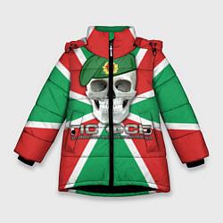 Куртка зимняя для девочки ПС ФСБ цвета 3D-черный — фото 1