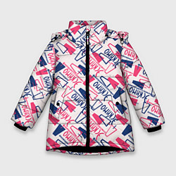 Куртка зимняя для девочки Эскимо цвета 3D-черный — фото 1