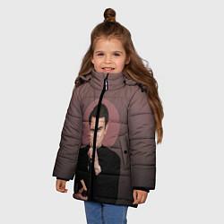 Куртка зимняя для девочки Cassidy цвета 3D-черный — фото 2