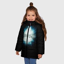 Куртка зимняя для девочки Evanescence Explode - фото 2
