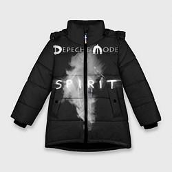 Куртка зимняя для девочки DM: Spirit цвета 3D-черный — фото 1