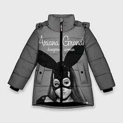 Куртка зимняя для девочки Ariana Grande: Rabbit цвета 3D-черный — фото 1
