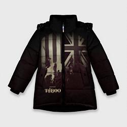 Куртка зимняя для девочки Taboo London - фото 1