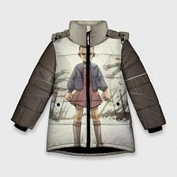 Куртка зимняя для девочки Girl-boy цвета 3D-черный — фото 1
