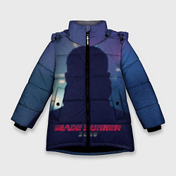 Куртка зимняя для девочки BR 2049: Shadow man цвета 3D-черный — фото 1