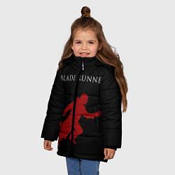 Куртка зимняя для девочки Blade Runner цвета 3D-черный — фото 2
