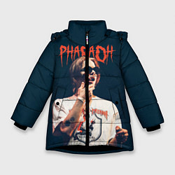 Куртка зимняя для девочки Pharaoh цвета 3D-черный — фото 1