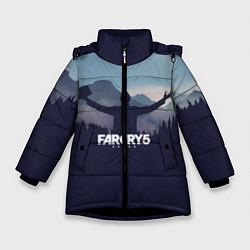 Куртка зимняя для девочки Far Cry 5: Ave Joseph цвета 3D-черный — фото 1