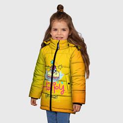 Куртка зимняя для девочки Happy Birthday - фото 2