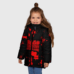 Куртка зимняя для девочки Led Zeppelin - фото 2