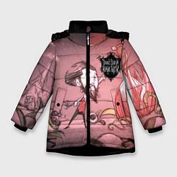 Куртка зимняя для девочки Don't Starve Together цвета 3D-черный — фото 1
