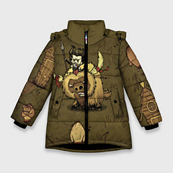 Куртка зимняя для девочки Wild Wilson - фото 1