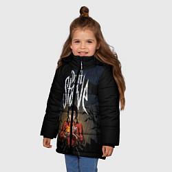 Куртка зимняя для девочки Willow Halloween - фото 2