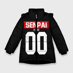Куртка зимняя для девочки Senpai 00: Black Style цвета 3D-черный — фото 1