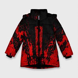 Куртка зимняя для девочки Berserk Sword цвета 3D-черный — фото 1