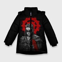 Куртка зимняя для девочки Commander Lexa цвета 3D-черный — фото 1