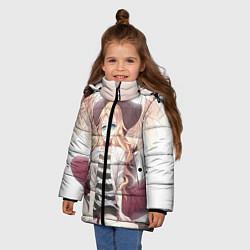 Куртка зимняя для девочки Angels of Death цвета 3D-черный — фото 2