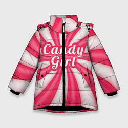 Куртка зимняя для девочки Candy Girl цвета 3D-черный — фото 1