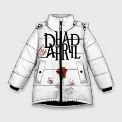 Куртка зимняя для девочки Dead by April цвета 3D-черный — фото 1