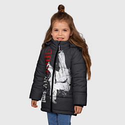 Куртка зимняя для девочки Judo Warrior цвета 3D-черный — фото 2