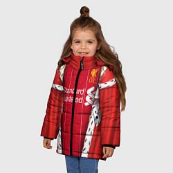 Куртка зимняя для девочки King liverpool цвета 3D-черный — фото 2