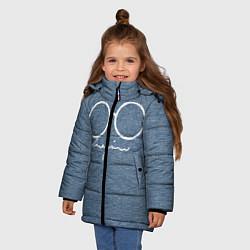 Куртка зимняя для девочки Imagine John Lennon цвета 3D-черный — фото 2
