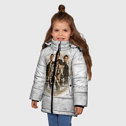 Куртка зимняя для девочки Join The Hunt цвета 3D-черный — фото 2