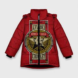 Куртка зимняя для девочки King Of Hell цвета 3D-черный — фото 1