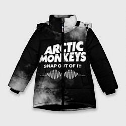 Куртка зимняя для девочки Arctic Monkeys - фото 1