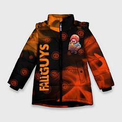 Куртка зимняя для девочки FALL GUYS HALF-LIFE ФОЛ ГАЙС цвета 3D-черный — фото 1
