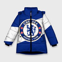 Куртка зимняя для девочки Chelsea SPORT цвета 3D-черный — фото 1