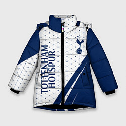 Куртка зимняя для девочки TOTTENHAM HOTSPUR Тоттенхэм цвета 3D-черный — фото 1