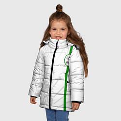 Куртка зимняя для девочки Адыгея моя цвета 3D-черный — фото 2