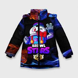 Зимняя куртка для девочки BRAWL STARS LOU