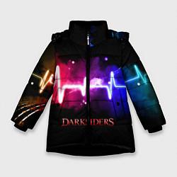 Куртка зимняя для девочки DARKSIDERS ДАРКСАЙДЕРС S цвета 3D-черный — фото 1
