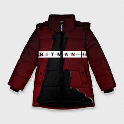 Куртка зимняя для девочки Hitman III цвета 3D-черный — фото 1