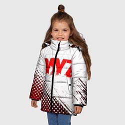 Детская зимняя куртка для девочки с принтом Dayz, цвет: 3D-черный, артикул: 10287511906065 — фото 2