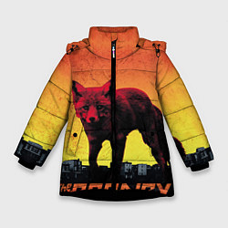 Куртка зимняя для девочки The Prodigy: Red Fox цвета 3D-черный — фото 1