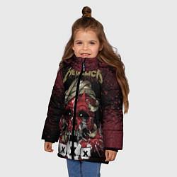 Куртка зимняя для девочки Metallica: XXX - фото 2