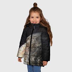 Куртка зимняя для девочки Плутон - фото 2