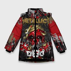 Куртка зимняя для девочки Metallica XXX - фото 1