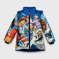 Куртка зимняя для девочки One Piece цвета 3D-черный — фото 1