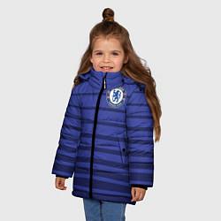 Куртка зимняя для девочки Chelsea: Zola цвета 3D-черный — фото 2