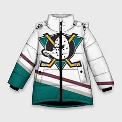 Куртка зимняя для девочки Anaheim Ducks Selanne цвета 3D-черный — фото 1