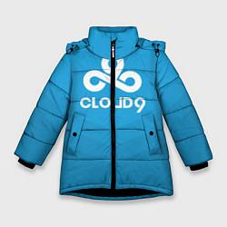 Куртка зимняя для девочки Cloud 9 цвета 3D-черный — фото 1