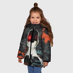 Куртка зимняя для девочки Three Days Grace цвета 3D-черный — фото 2