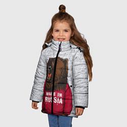 Куртка зимняя для девочки Made in Russia - фото 2