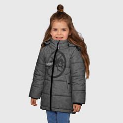 Куртка зимняя для девочки The Prodigy: Dark Asphalt цвета 3D-черный — фото 2