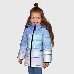Куртка зимняя для девочки Keep Calm & Dream - фото 2